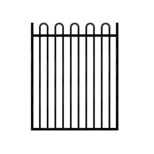 Loop Top Gate Black 970x1200H