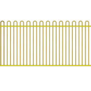 Loop Top 2450x1200 Primrose suitable for pool fence and Garden fence.