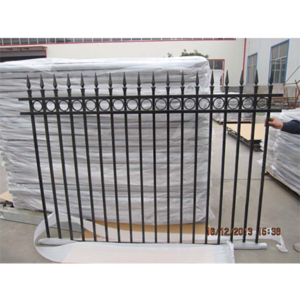 1500 high Oxley ring spear top fence