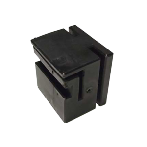75x75 Nylon Block for sliding gate (Black)