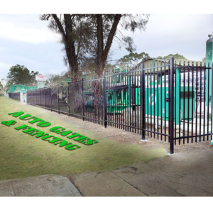 Installed 2100mm high security fence