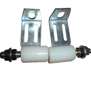 40x60 white rollers with Brackets (OK)