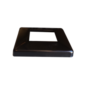 50x50 Black cover plate (Alum)
