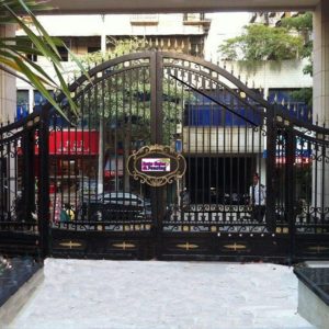 Alum Swing gates