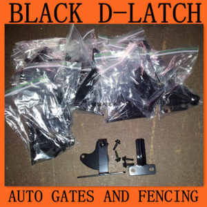 Black d latch