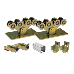 Cantilever carriage wheels