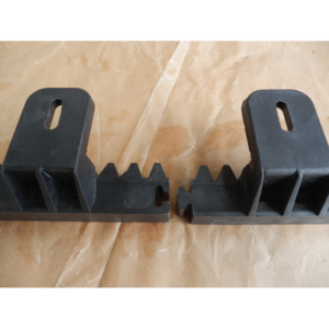 Connection for nylon gear rack