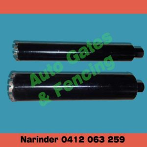 Core drill bit 100mm and 75mm