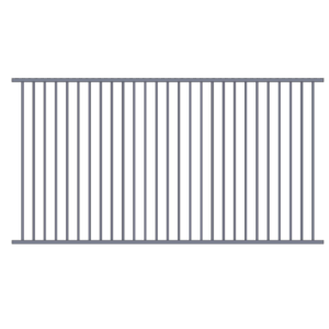 Flat top pool fence first drawing-2
