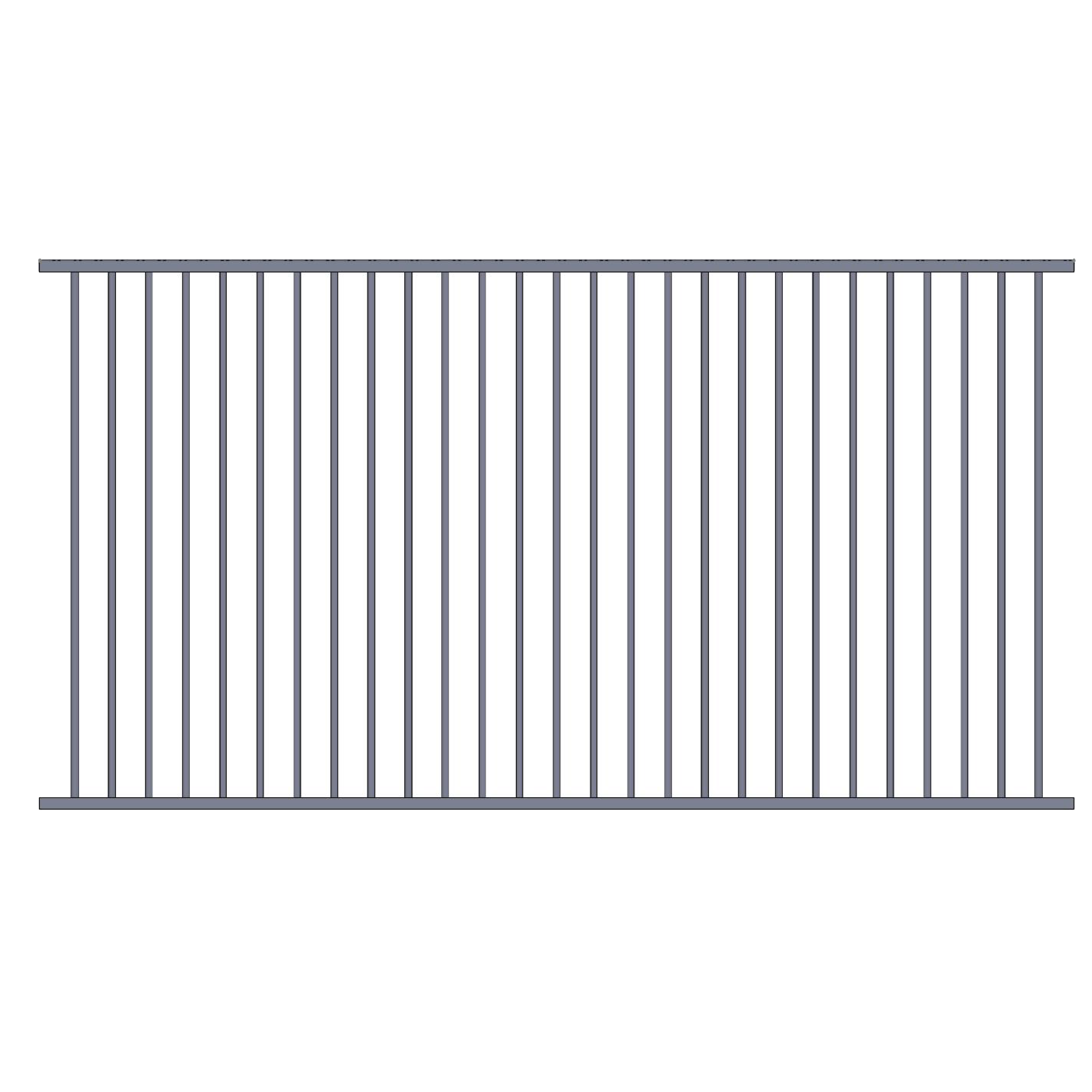Flat Top Pool Fence Fencing Store Australia
