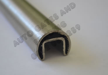 Round Handrail with rubber gasket