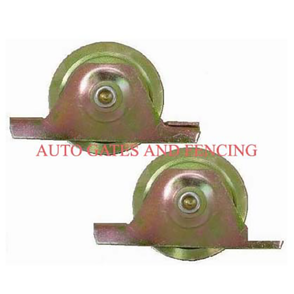 Sliding gate wheels
