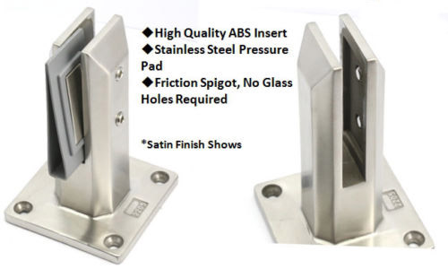 Square spigot with accessories