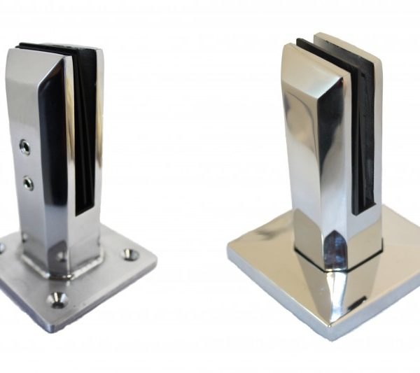 Square spigots with and without cover platre