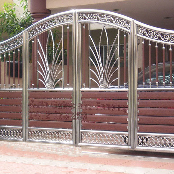 Stainless Steel Swing Gates