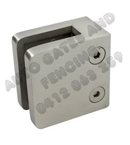 stainless steel glass clamps with screws